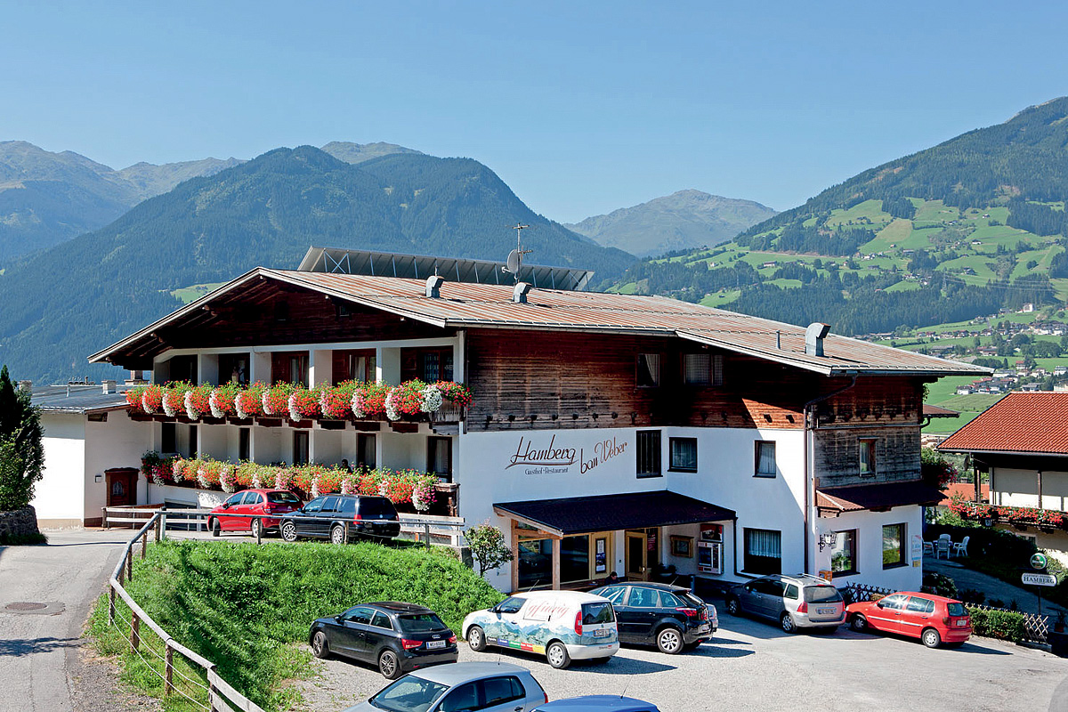 Rakúsko (Rakúske Alpy a jazerá) - Gasthof Hamberg