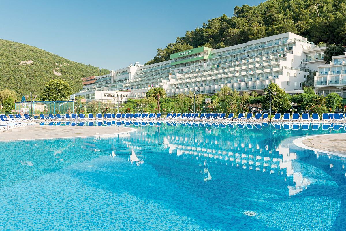 Chorvátsko (Istria) - dovolenka - HOTEL HEDERA