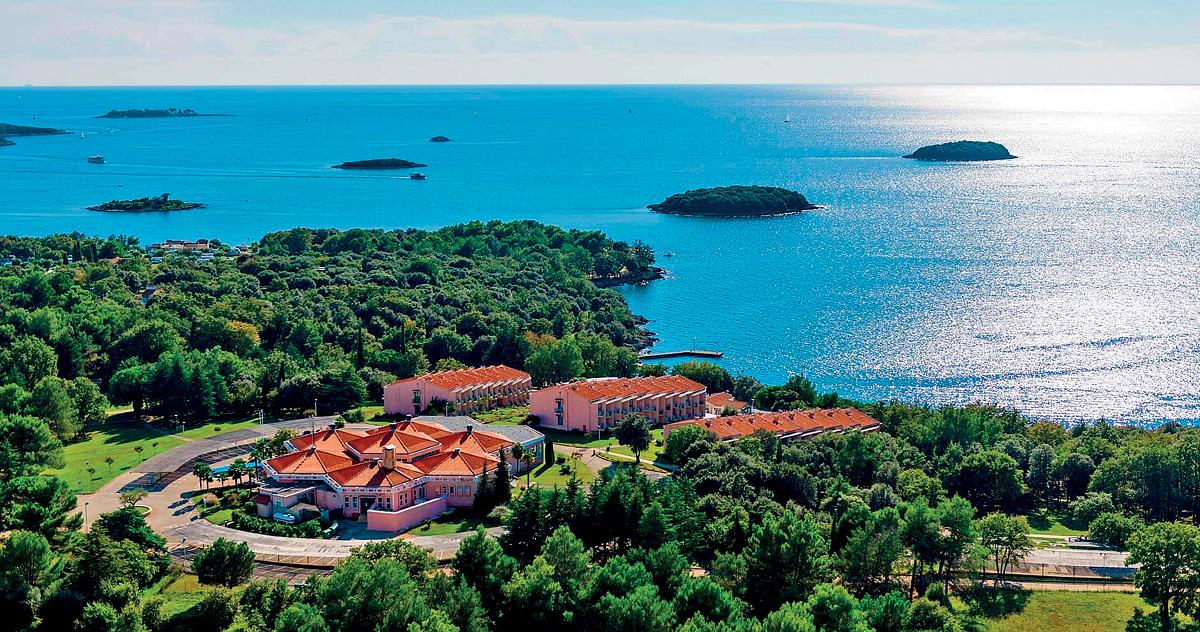 Chorvátsko (Istria) - dovolenka - HOTEL FUNTANA