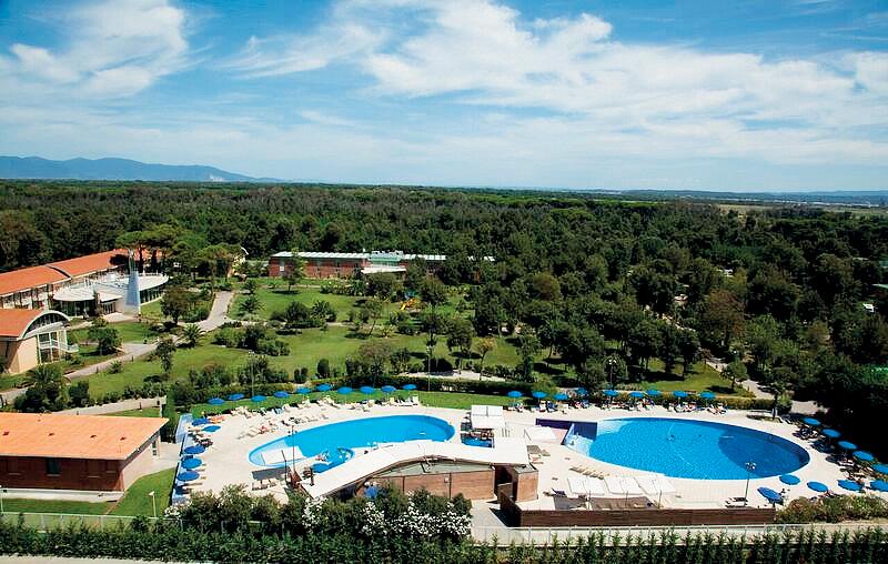 Taliansko (Južný Jadran) - dovolenka - HOTEL MERCURE TIRRENIA GREEN PARK