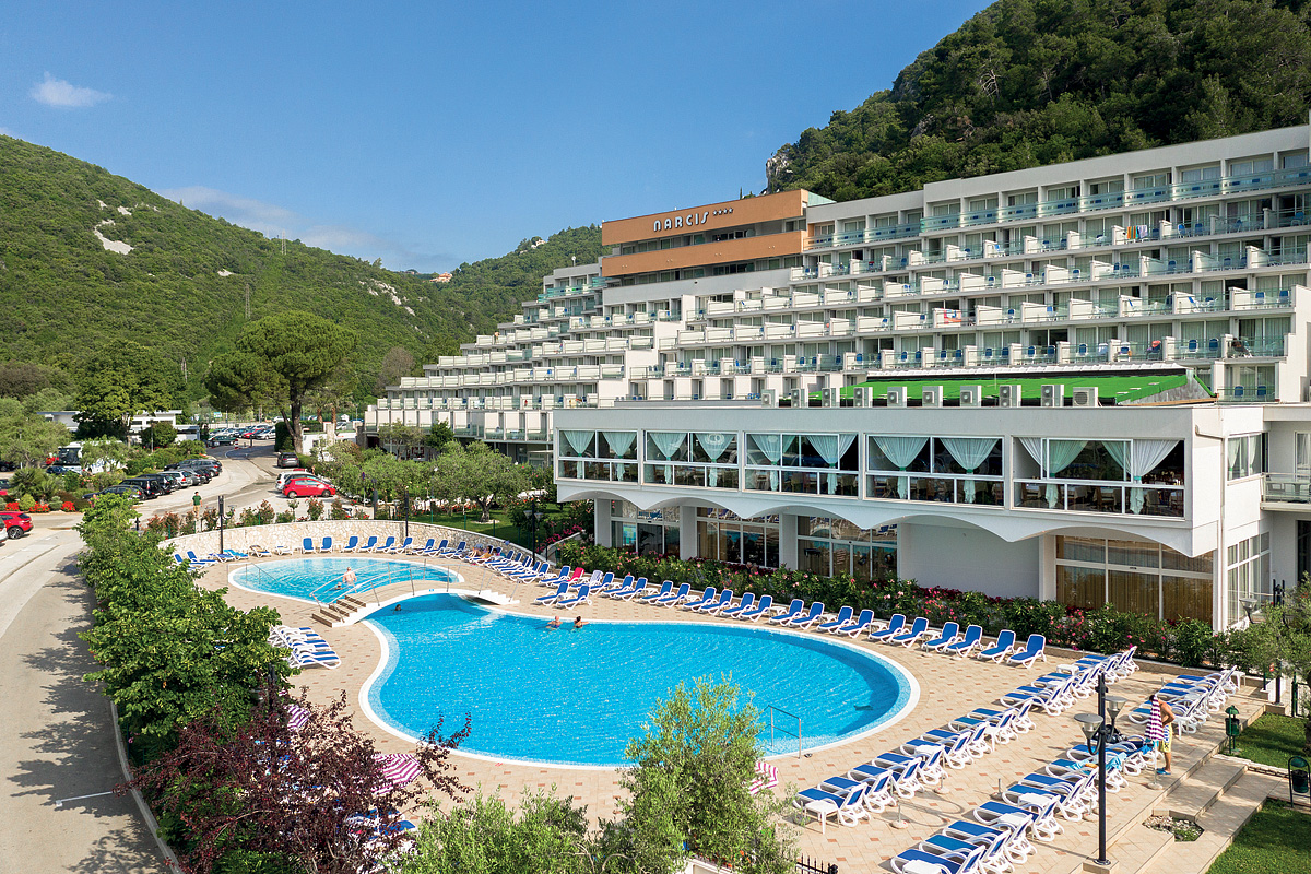 Chorvátsko (Istria) - dovolenka - HOTEL NARCIS
