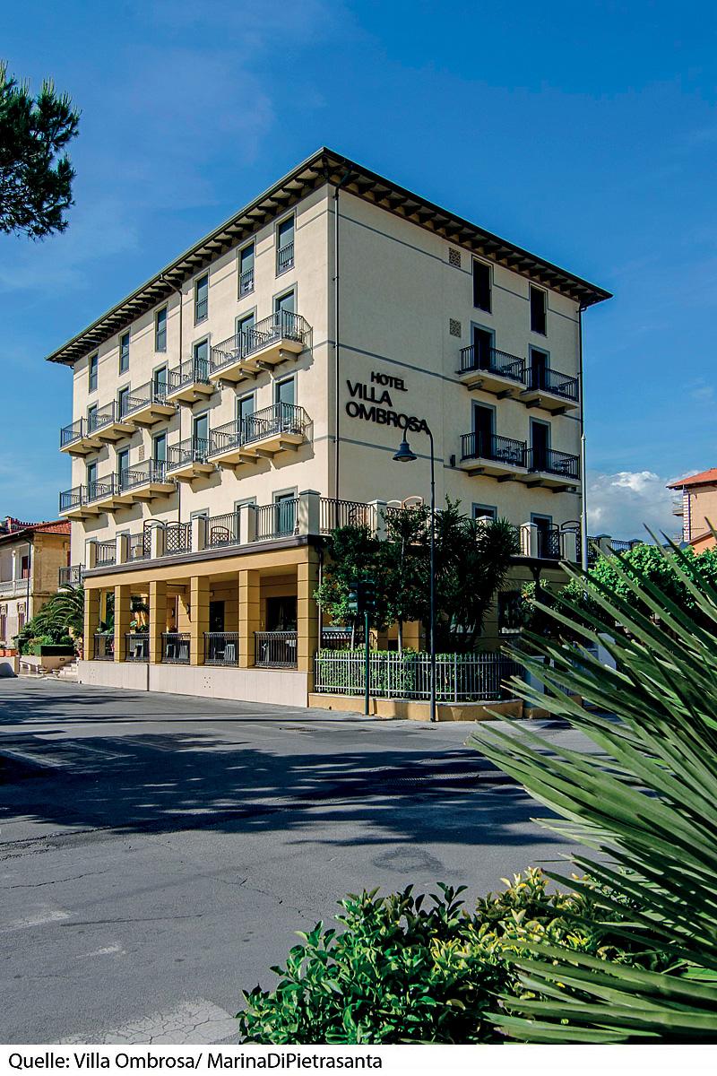 Taliansko (Južný Jadran) - dovolenka - HOTEL VILLA OMBROSA