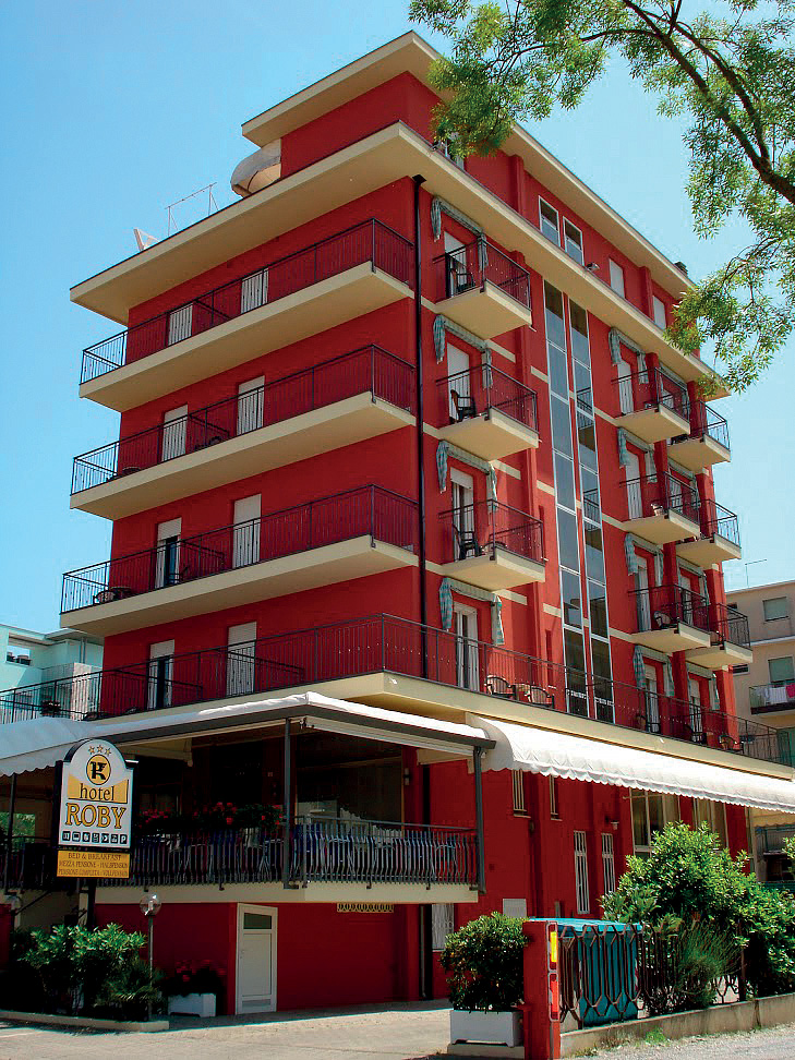 Taliansko (Severný Jadran) - dovolenka - HOTEL ROBY