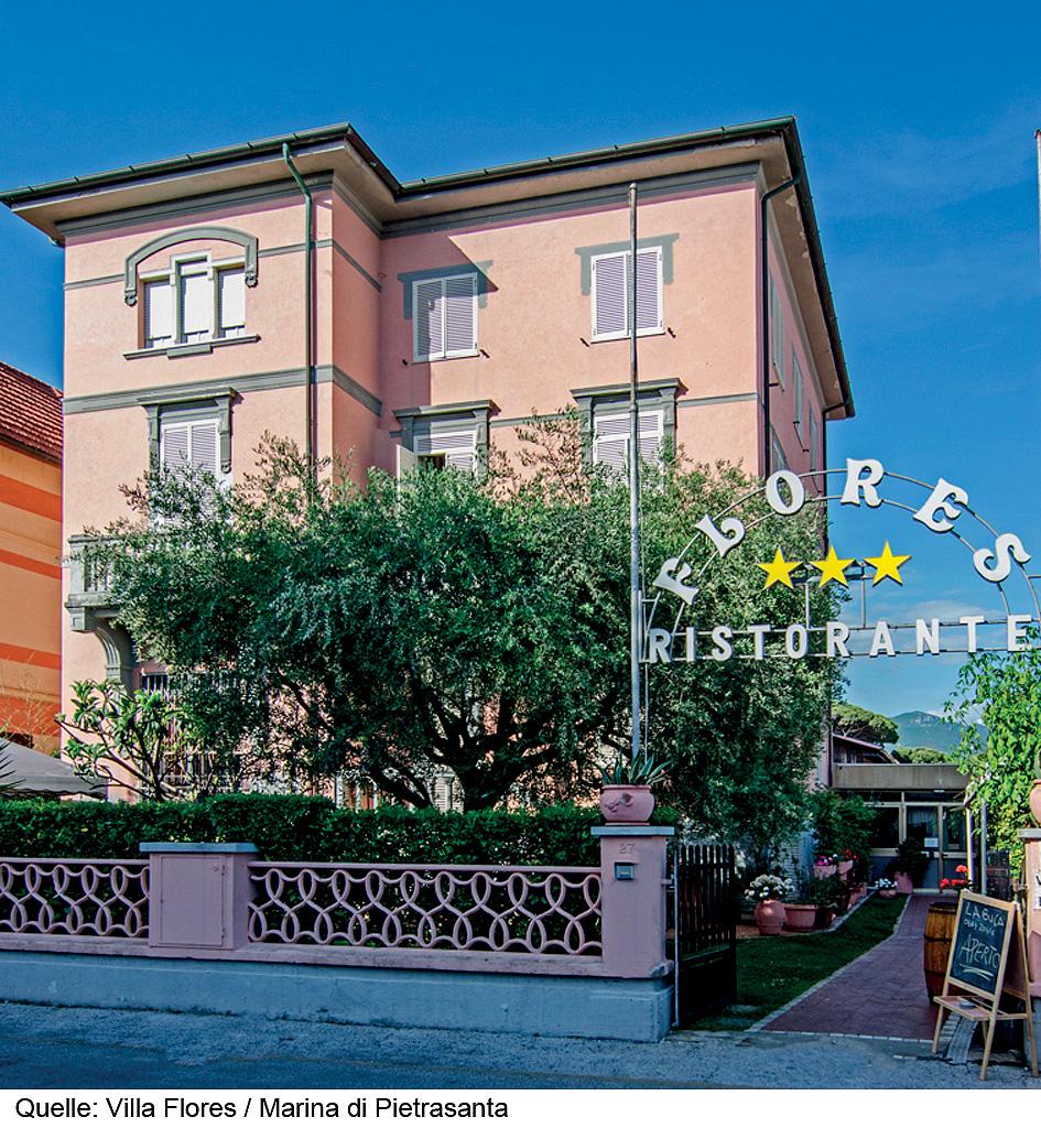 Taliansko (Južný Jadran) - dovolenka - HOTEL VILLA FLORES